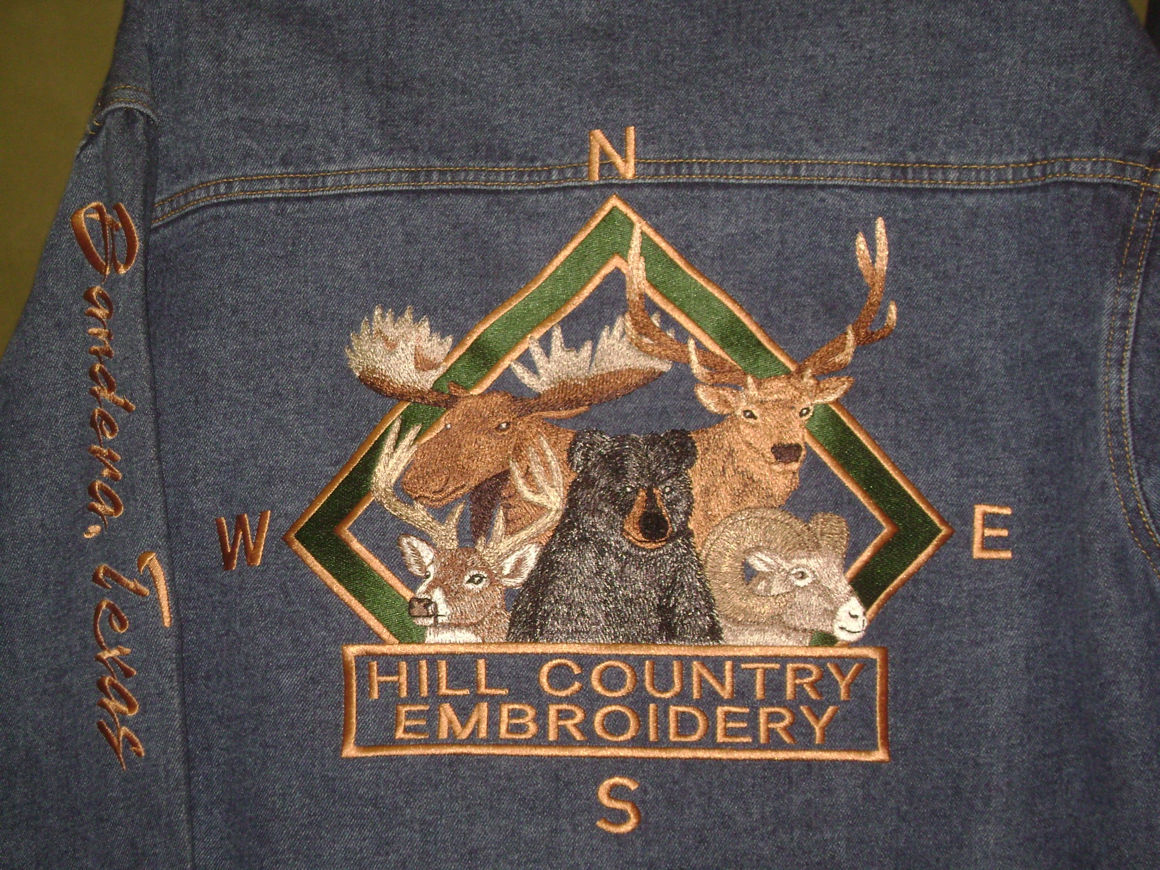 Hill Country Embroidery - Bandera, Texas - Custom Embroidery